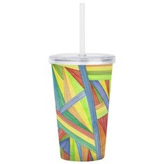 Abstract Design Cup