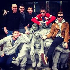 celticck (Colm): Love this photo our tour manager Ger took after our tv interview in Seattle! I love it too!!