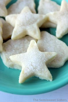 Mini Christmas Shortbread Cookies