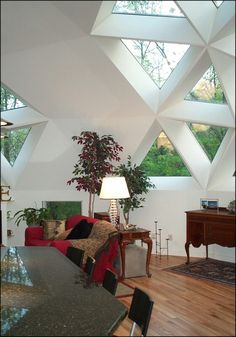 Gorgeous window lighting Dome home                                                                                                                                                                                 More