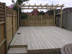 Yes! I want to do something similar with our deck!  http://www.newburylandscapes.co.uk/_img/lightbox/deck_garden/deck_garden_1.jpg