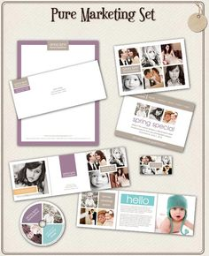 Marketing Templates from Album Cafe!