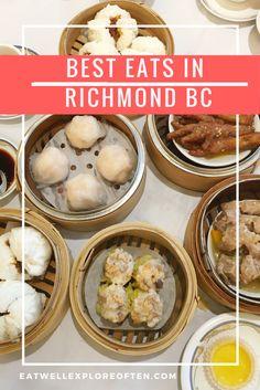 Best Foodie Eats in Richmond B.C. Canada, Best Food Eats in Richmond BC, Foodie Adventures in Richmond British Columbia