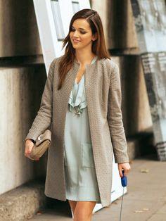 Schnittmuster: Mantel - verschlusslos - Mäntel - Damen - burda style