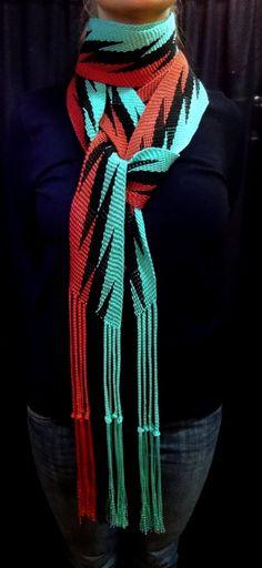 Lightning Finger Woven Sash