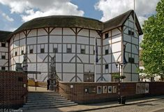 Shakespears' Globe theatre in London