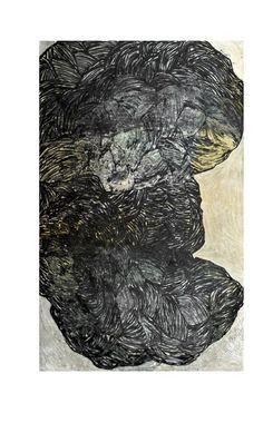 Kornog 1 - huile sur toile 75 x 120 cm - Marie Boiseaubert