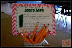 A great way to start your year out organized! Grab these back to school Open House Freebies! Young Teacher Love Blog