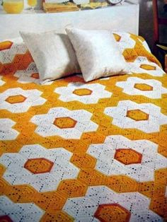 Grandmother's Flower Garden Afghan Crochet Pattern Great for Gifts Scraps   eBay