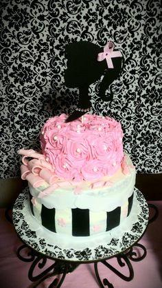 Vintage Barbie Cake