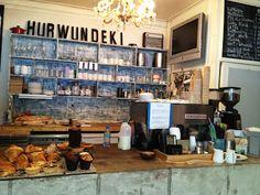 Hurwundeki Cafe, Bethnal Green, London