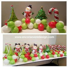 Planning your next corporate holiday party Christmas Events, Christmas Party Decorations, Christmas Centerpieces, Balloon Decorations, Kids Christmas, Xmas, Holiday Decor, Christmas Crafts, Christmas Balloons