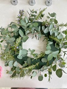 A Spring Wreath Tutorial by @the_suffolk_nest - Just A Little Build Wreath Ideas, Diy Wreath, Wreaths, Floristry For Beginners, Bloom And Wild, Grave Decorations, Easter 2021, Christmas Crafts For Gifts, Wreath Tutorial