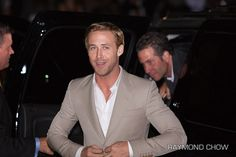 """Ryan Gosling, at the premiere of his film, """"The Ides of March"""" at the Toronto International Film Festival.     #Ryan #Gosling - Top Male #Contender of the #LPFM #Cool #factor shortlist. Brought to you by the #social #media #celebrity #stealth #entrepeneurs at: http://LikePlusFollow.Net"""