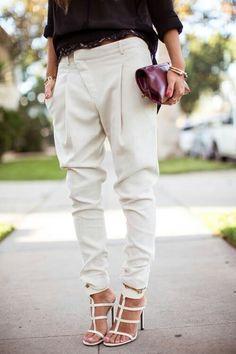 Pants!! Crossover design..love