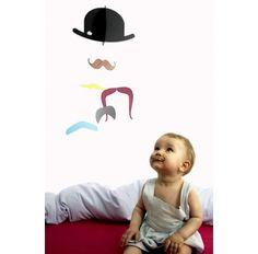 Jaellundtofta Moustache  babymobil