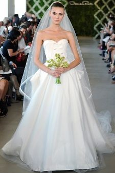 Oscar de la Renta   Martha Stewart Weddings