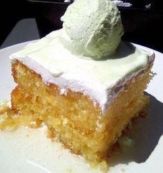 Greek Sweets, Greek Desserts, Greek Recipes, Sweets Cake, Cupcake Cakes, Greek Cake, Greek Cooking, I Foods, Vanilla Cake