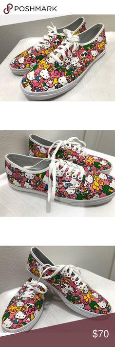 5fa1b02558f NIB Rare Limited Ed. Hello Kitty Vans Vans Authentic Lo Pro Hello Kitty Vans  Limited