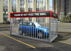 Don't Feed The Mini  Experiential Outdoor Campaign