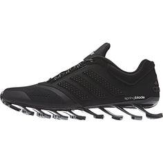 adidas Men's Springblade Drive 2 Running Shoes - Black/Silver: Image 01