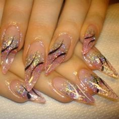 stiletto nail designs | Nail Art Designs - Fashion Tips & Tricks about MakeUp Clothes and ...