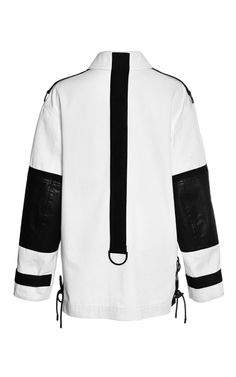 Workwear Cargo Jacket With Webbing Detail by Alexander Wang for Preorder on Moda Operandi