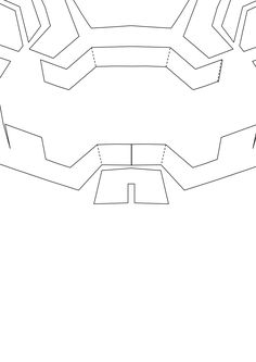 Iron man mark 42 costume helmet diy cardboard build with template page 8 of 9 maxwellsz