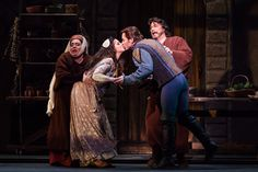 AVA alumni Joyce El-Khoury and Stephen Costello have a winning chemistry on stage as they perform in Romeo and Juliet with Austin Opera.
