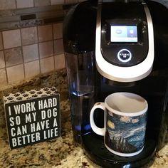 Instagram fan serg_alvarez loves his morning Keurig Brewed coffee!