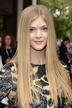 Get Ready for the Sweetest Braid You'll See All Week Check out raising star, the beautiful (you should see her mamma) Elena Kampouris