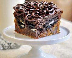 Oreo Caramel Brownie Bombs