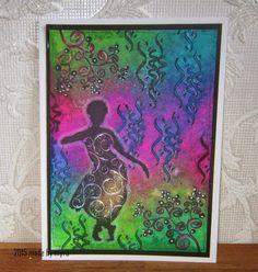 Made by Myra..... with love: Artjourney challenge 54: Krullen en slingers