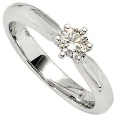 Damen-Ring 1 Diamant-Brillant 14 Karat (585) Weißgold 0.38 ct. Dreambase, http://www.amazon.de/dp/B00AEESC2A/ref=cm_sw_r_pi_dp_qGI5sb0GWVCH2