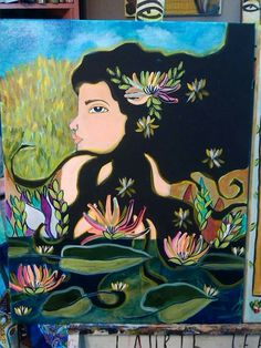 Water lily. Available. -Laurie Jean Kramer