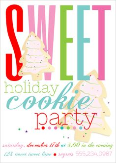 Christmas Cookie Party Invite.9 Best Cookie Party Images In 2013 Cookie Decorating Party