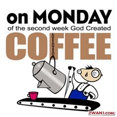 Monday Morning Coffee-Who Knew??