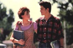 16 CANDLES | And that same year, the first suburban lumberjack heartthrob came in the form of Jake Ryan, the wealthy, plaid-shirt-wearing object of affection for Molly Ringwald's character in Sixteen Candles. Played by then-23-year-old Michael Schoeffling, Jake Ryan is essentially the patron saint of the urban lumberjack.
