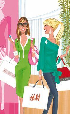 "(••)                                                              ""Shopping"" by Jordi Labanda"