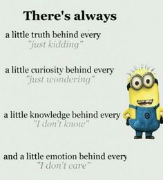 humor texts For all Minions fans this is your lucky day, we have collected some latest fresh insanely hilarious Collection of Minions memes and Funny picturess Cute Minions, Funny Minion Memes, Minions Quotes, Minion Humor, Funny Humor, Minions Minions, Minion Love Quotes, Minions Friends, Minion Sayings