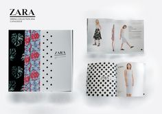 Zara spring collection 2014 catalogue by Shandy Oktavia