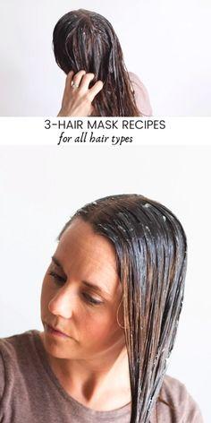 3-Hair Mask Recipes