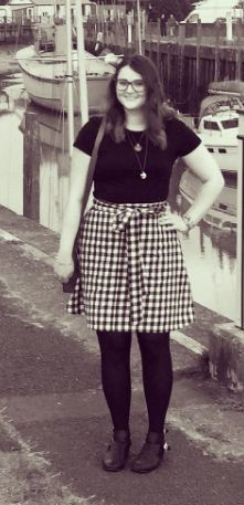 Alison's Miette skirt - sewing pattern by Tilly and the Buttons