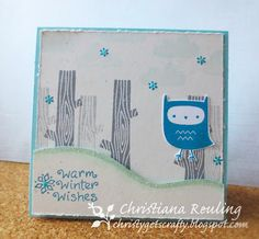 Christy Gets Crafty: You're a Hoot exclusive set by Lawn Fawn (black friday sale)