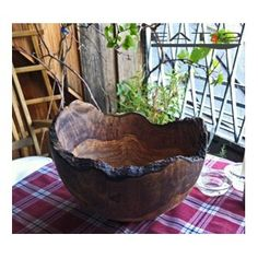 Big sized bowl Olive wood bowl rustic style by Premiumolivewood Olive Wood Bowl, Steam Bending Wood, Stained Glass Mirror, How To Bend Wood, Furniture Repair, Tree Furniture, Into The Woods, Wood Bowls, Wooden Crafts