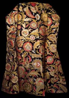Ottoman Clothing And Garments, Ceremonial Caftan, Soliman The Magnificent, Sehzade Bayazit, Mustafa