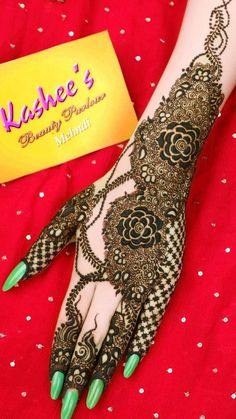 Kashee's Mehndi Designs, Pretty Henna Designs, Indian Henna Designs, Legs Mehndi Design, Latest Bridal Mehndi Designs, Full Hand Mehndi Designs, Stylish Mehndi Designs, Mehndi Designs For Girls, Mehndi Design Photos