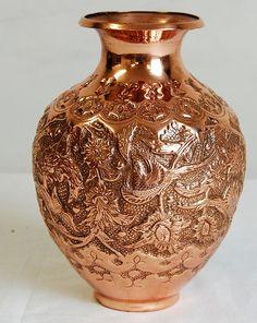 Persian Copper Vase