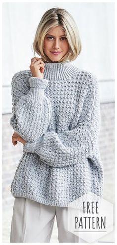 Oversized Sweater Crochet
