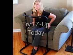 EZ-Up Stand Assist - This video details the design and features and benefits of this exciting new product for active seniors.